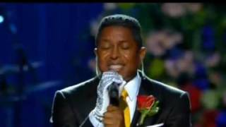 <b>Jermaine Jackson</b> Singing At Michael Jackson Memorial