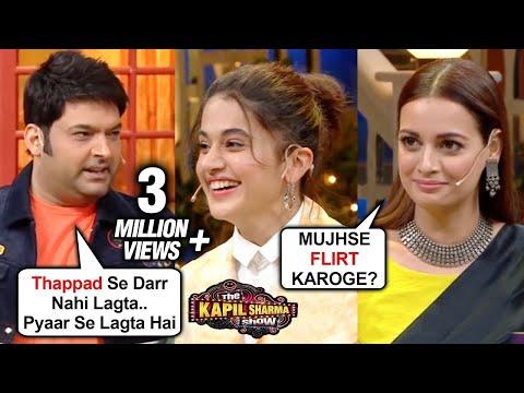 Kapil Sharma FLIRTS With Dia Mirza, MAKES FUN Of Tapsee Pannu Thappad | The Kapil Sharma Show