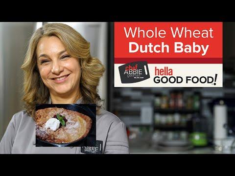 Whole Wheat Dutch Baby Pancake