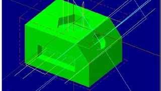 MASTERCAM X5 – Positional Milling 01 by NIlesh Gunjal (ME CAD/CAM)