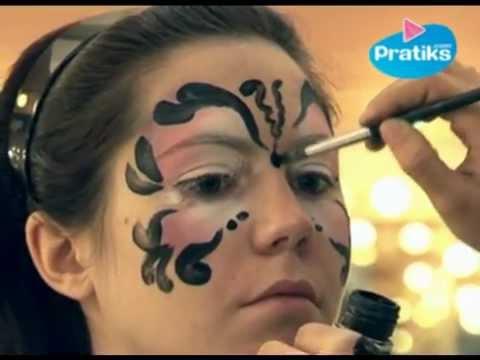 Maquillage de papillon