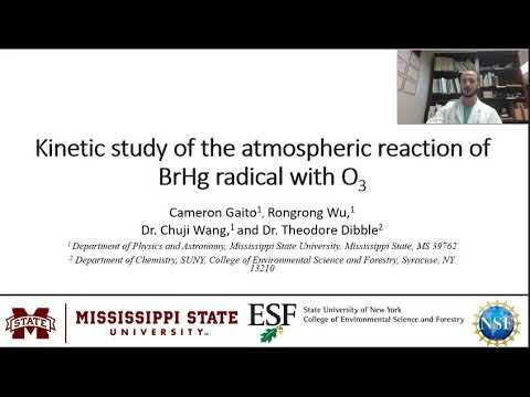 Kinetic Study of the Atmospheric Reaction BrHg Radical With O<sub>3</sub>