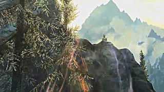 Заставка для Skyrim