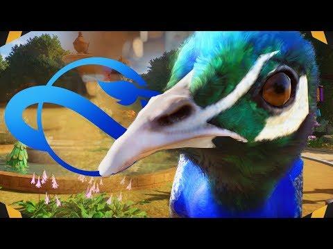 Walkthrough Peafowl Habitat Build! NEW ASIAN ZONE   Planet Zoo Habitat Build (Franchise Mode)