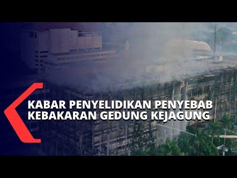 terkait penyelidikan terbakarnya gedung kejagung polisi tersangka akan ditetapkan minggu ini