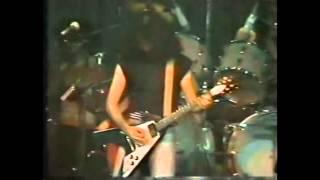 CONCIETRO PARA ELLOS-BARON ROJO 1984 ,video nunca antes visto