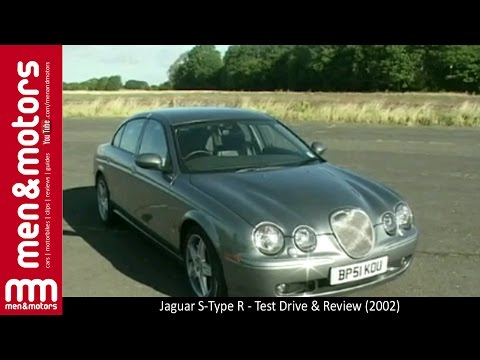 Jaguar S-Type R - Test Drive & Review (2002)