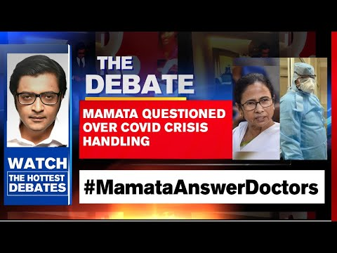 Arnab Goswami Debates: Mamata Questioned Over COVID Crisis Handling