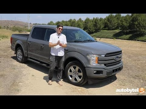 2018 Ford F-150 Lariat SuperCrew 3.0L Power Stroke V6 Turbo Diesel Review