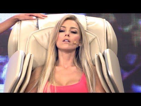 Luxus-Ganzkörper-Massagesessel mit Anne-Kathrin Kosch (Juli 2018)
