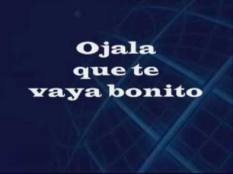 Que Te Vaya Bonito - Vicente Fernandez LETRA.wmv