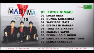 Lagu Batak Jaman Dulu - TRIO MADUMA Vol. 15