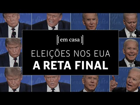 Live da Folha discute reta final das eleições nos EUA