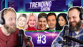 WHAT'S MY ETHNICITY? David Dobrik Surprise on Fallon, Best Family Feud Fail - Trending Show #3