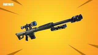 Fortnite: 5 TRICKS mit der Neuen Sniper! | (Barrett Cal. 50) | Fortnite Battle Royale