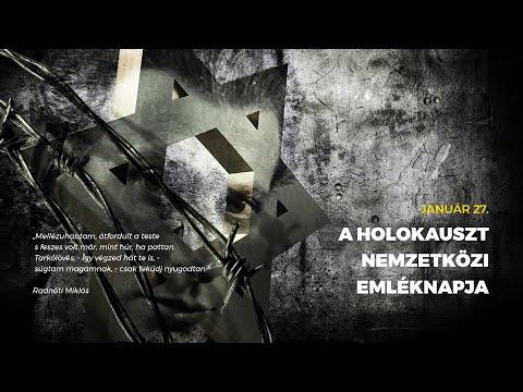 Január 27 – A holokauszt nemzetközi emléknapja