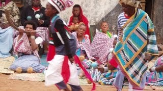 Rain Fertility Ceremony Drums And Dance Of Venda People (South AfricaZimbabwe)