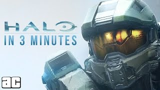 Entire Halo Story in 3 Minutes (Halo Animation) - dooclip.me