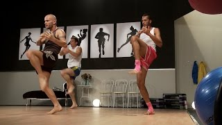 Muay Thai Cardio Training 1 with Keven Haas (Fityess) in Full HD