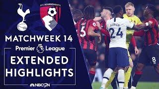 Tottenham Hotspur v. Bournemouth   PREMIER LEAGUE HIGHLIGHTS   11/30/19   NBC Sports