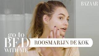 Roosmarijn de Kok's Nighttime Skincare Routine   Go To Bed With Me