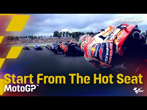 MotoGP 2021 カタルニアGP スタート直後のオンボード映像