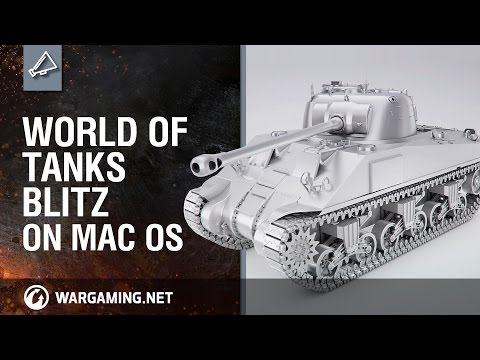 MAC OS X İÇIN WORLD OF TANKS BLITZ ÇIKTI