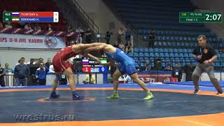 Чемпионат мира-2018. Финал 74 кг. Александр Цоктоев