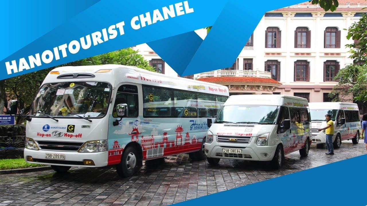 VTV đăng tin về sản phẩm Xe du lịch hop on hop off của Hanoitourist