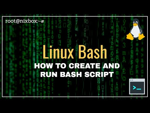How to Create and Run a Bash Script in Linux