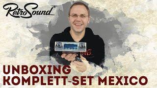 RetroSound Autoradio für Young- & Oldtimer - Unboxing RSD-MEXICO - Das ist alles im Komplettpaket