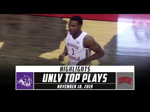 UNLV Basketball Top Plays vs. Abilene Christian (2019-20) | Stadium