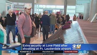 Increased Security At Love Field