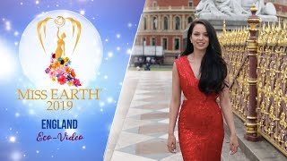 Stephanie Wyatt Miss Earth England 2019 Eco Video