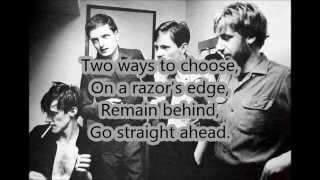 Joy Division-Something Must Break (With Lyrics)