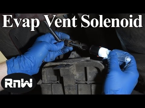 How To Replace An EVAP Emissions Vapor Canister - P0456 Chrysler
