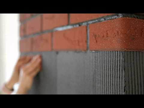 Mineralny Klinkier ELASTOLITH®   - Instrukcja montażu cegły dekoracyjnej - Zrób to Sam!