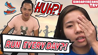 Singaporeans Try: Running 2.4KM Every Day for 30 Days