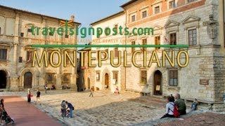 preview picture of video 'Montepulciano: Live from Tuscany's Wine Country'