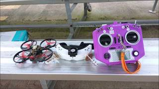 30 Minutes Long Range mini FPV drone, Cinewhoop 18650 li-ion cells