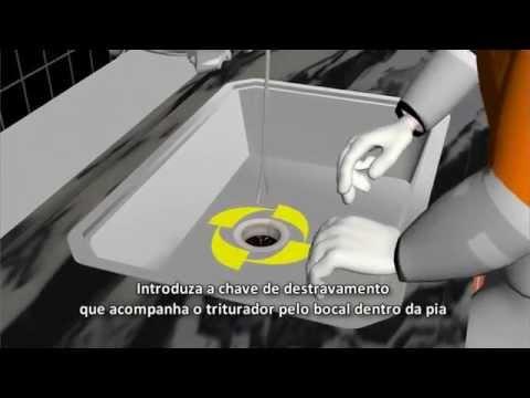 COMO DESTRAVAR TRITURADOR DE RESIDUOS  MODELO ACX 50 - TRITURY TWEENY