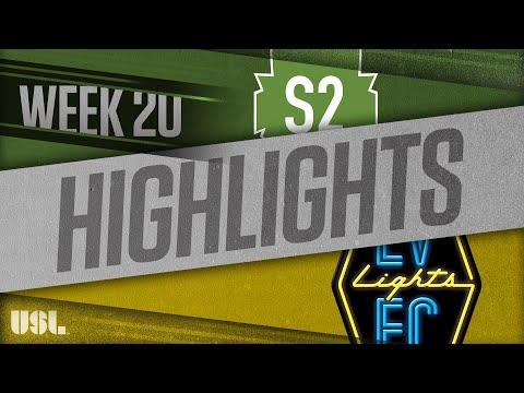 Seattle 2 - Las Vegas Lights 3:0. Видеообзор матча 27.07.2018. Видео голов и опасных моментов игры