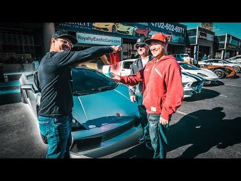 DREAMS DO COME TRUE *SUBSCRIBER BUYS HIS FIRST LAMBO FROM ROYALTY EXOTIC CARS*