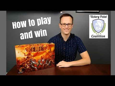 Kemet - How to play and win