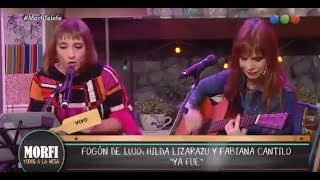 Hilda Lizarazu y Fabiana Cantilo en Morfi. (COMPLETO)