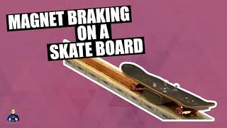 Skateboarding - Effects of Magnetic Breaking