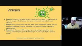 Biological Contamination ServSafe Chapter 2 &3