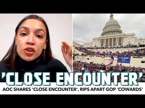 AOC Shares 'Close Encounter', Rips Apart GOP 'Cowards' During Livestream