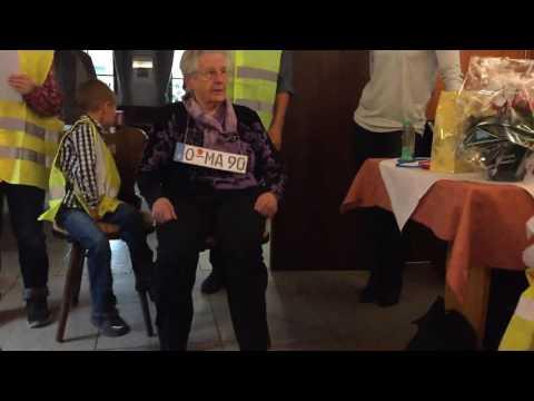 OMA HILLER 90er Geburtstags Tüvprüfung