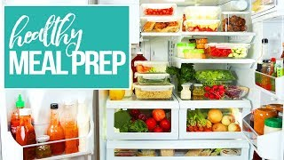 10 Healthy Meal Prep MUSTS | New Year 2018